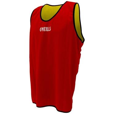 O'Neills Junior Reversable Bibs - Yellow/Red