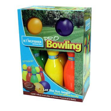 Kingfisher Set of 6 Pins Pro Bowling Set - Multi