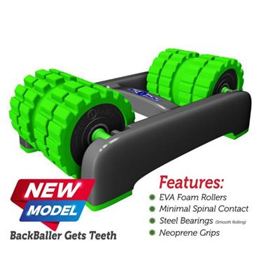 BackBaller Rigid Foam Roller - Green