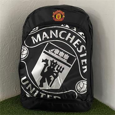 OFFICIAL MANCHESTER UNITED BACKPACK - BLACK