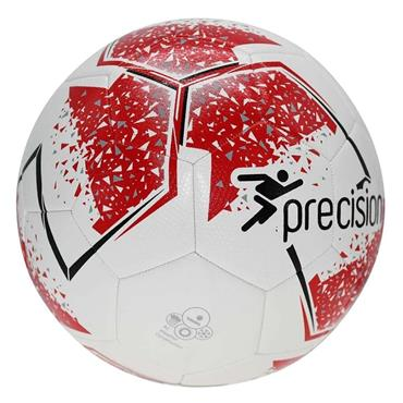Precision Fusion IMS Training Football Size 5 - White/Red