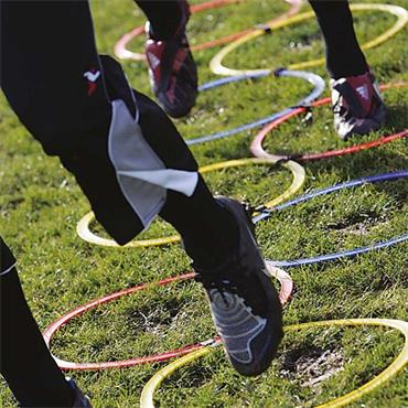 Precision Speed Agility Hoop Ladder - Multi