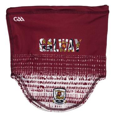 Galway GAA Snood - Maroon