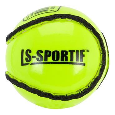 Lee Sports Flourescent Sliotar - Yellow