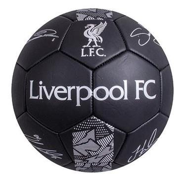 Liverpool Merchandise Phantom Signature Football Size 5 - BLACK