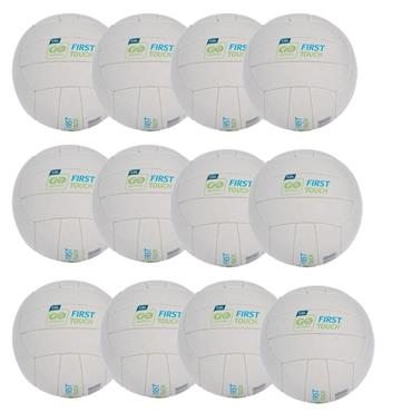 O'Neills First Touch Football | (Age U6-U8) | Pack Of 12 - WHITE