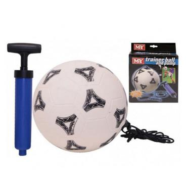 M.Y. Outdoor Trainer Ball On Elastic And Pump - N/A