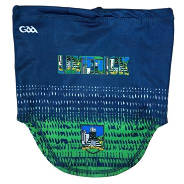 Official GAA Merchandise Limerick GAA Snood - Navy