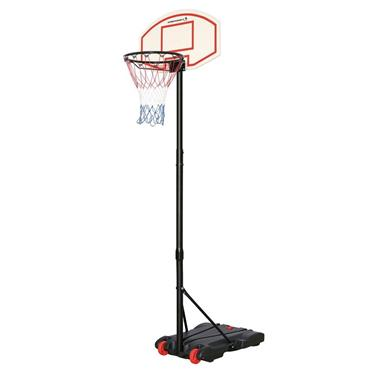 Sportcraft Adjustable Basketball Net With Stand - BLACK