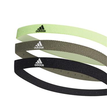 Adidas Hairband 3 Pack - Multi