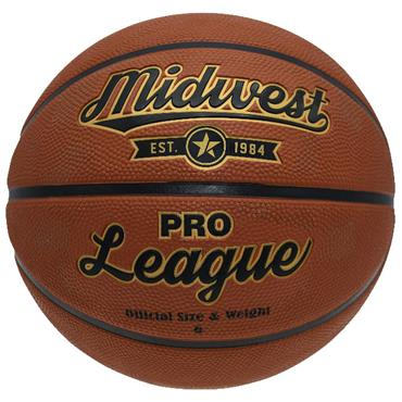 MIDWEST PRO LEAGUE BASKETBALL SIZE 6 - TAN