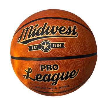 MIDWEST PRO LEAGUE BASKETBALL SIZE 7 - TAN