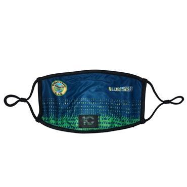 Official GAA Merchandise Glenswilly GAA Face Mask - Navy