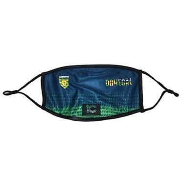 Official GAA Merchandise Kids Donegal GAA Fask Mask - Navy