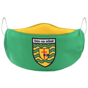 Oneills Adults Donegal GAA Face Mask - Green