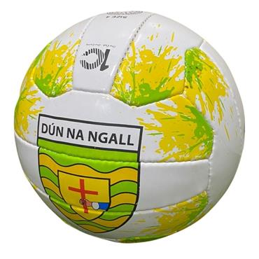 Official Donegal Merchandise Donegal GAA Football 2020 Size 4 - White