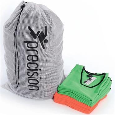 Precision Mesh Bib Wash or Carry Bag - White