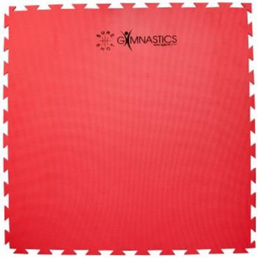 Sure Shot Puzzle Mat 1m x 1m x 20mm - Red