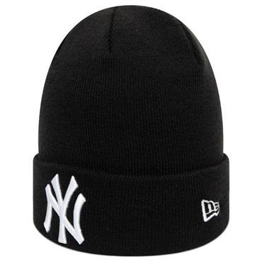 New Era Coop Knit NY Yankee Hat - BLACK
