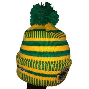 Official GAA Merchandise Glenswilly Marl Mix 2020 Bobble Hat - Green