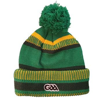 Official Donegal Merchandise Adults Donegal GAA Bobble Hat - Green