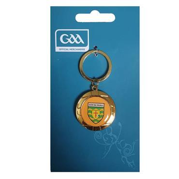 Donegal GAA Chrome Keyring - N/A