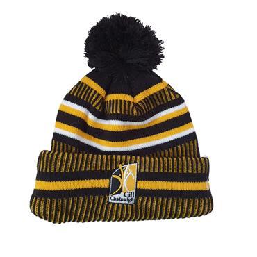 Kilkenny GAA Bobble Hat - BLACK
