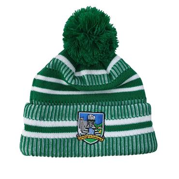 Limerick GAA Bobble Hat - Green