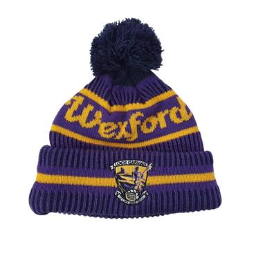 Wexford GAA Bobble Hat - Purple