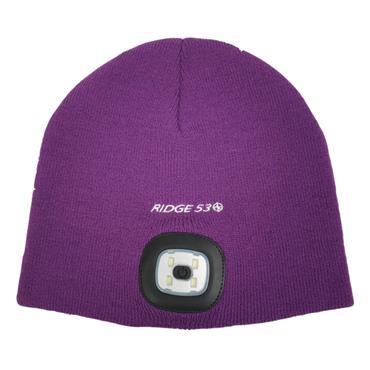 Ridge 53 LED Beanie Hat - Purple
