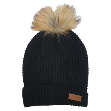 Ridge 53 Venus Bobble Hat - BLACK