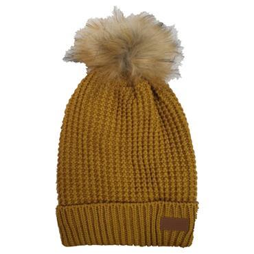 Ridge 53 Venus Bobble Hat - Yellow
