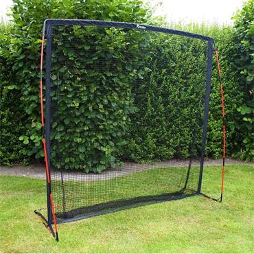 "Precision Multi Sport GAA/Hurling/Tennis/Golf Practice Net 7"" x 7"" - BLACK"