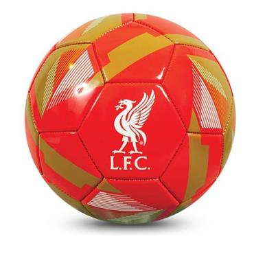Liverpool Reflex PVC Football - Red
