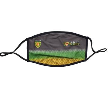 Official Donegal Merchandise Adults Donegal GAA Face Mask - Grey