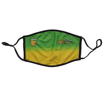 Official Donegal Merchandise Adults Donegal GAA Face Mask - Green
