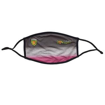 Official Donegal Merchandise Womens Donegal GAA Face Mask - Grey