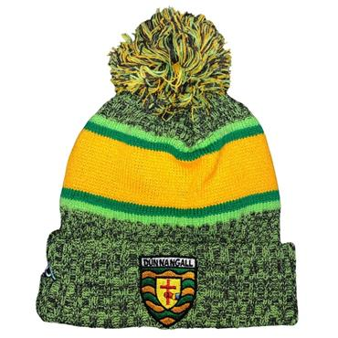 Official Donegal Merchandise Donegal GAA Bobble Hat - Green