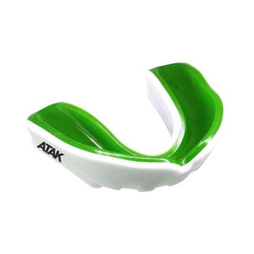 Atak Adults Fortis Gel Mouthguard - Green