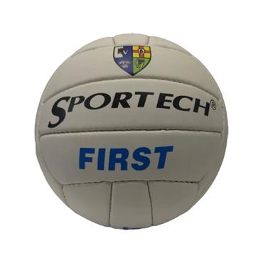 Sportech First Touch Football - White