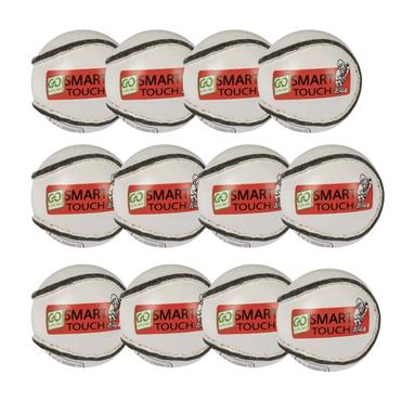 Karakal Smart Touch Sliotar Pack of 12 U12 - White