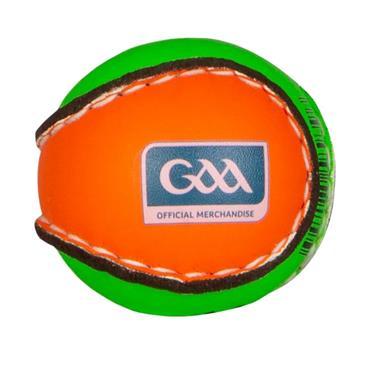 O'Neills Quick Touch Hurling Sliotar - Orange/Green