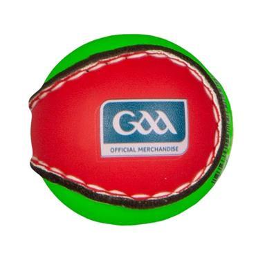 O'Neills Smart Touch Hurling Sliotar - Red/Green