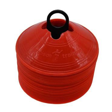Precision Saucer Cones set of 50 - Red