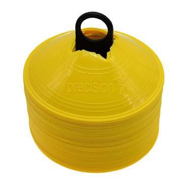 Precision Saucer Cones set of 50 - Yellow