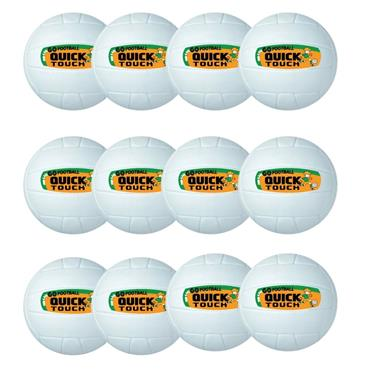 Lee Sport Go Games Quick Touch Football Pack of 12 - White