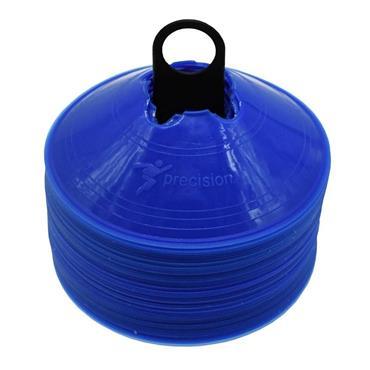 Precision Saucer Cones set of 50 - BLUE