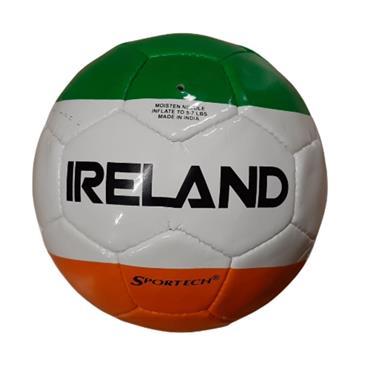 SPORTECH IRELAND SOCCER FOOTBALL - WHITE