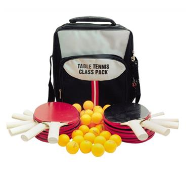 Butterfly Class Pack Pimpled out bats and 30 training balls with bag - BLACK