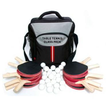 Butterfly Class Pack - 14 reversed bats and 30 training balls with bag - BLACK